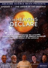The Heavens Declare Episode 1: The Origin of the  Universe DVD