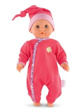 Bebe Calin Floral Boom Doll