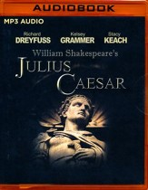 Julius Caesar - unabridged audio book on MP3-CD