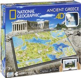 4D National Geographic, Ancient Greece, Cityscape Puzzle