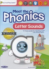 Meet the Phonics: Letter Sounds DVD