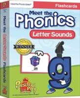 Meet the Phonics: Letter Sounds Flashcards