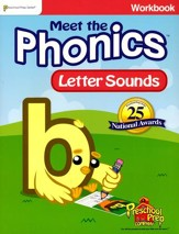 Meet the Phonics: Letter Sounds Workbook