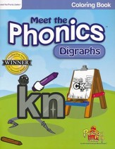 Meet the Phonics: Digraphs Coloring Book
