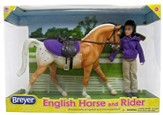 English Horse and Rider Set