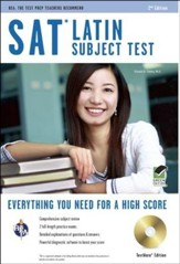 SAT Subject Test Latin, 2nd Edition w/Practice Tests on CD