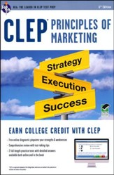 CLEP Principles of Marketing with Access Code (Green)