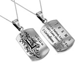 Love, Letter Dog Tag