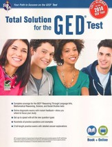 Total Solution for the GED w/Online  Practice Tests