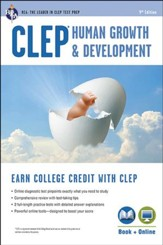 CLEP Human Growth & Development Book  and Online (CLEP Test Preparation)