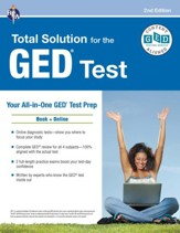 GED Total Solution, plus online 2nd  Edition