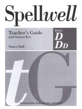 Spellwell D & DD Teacher's Guide and Answer Key (Homeschool  Edition)