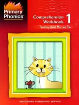 Primary Phonics: Thinking About Mac  & Tab, Workbook 1  (Homeschool Edition)