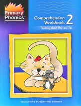 Primary Phonics: Thinking about Mat  & Tab, Workbook 2  (Homeschool Edition)