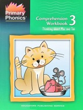 Primary Phonics: Thinking about Mac  & Tab, Workbook 3  (Homeschool Edition)