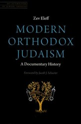 Modern Orthodox Judaism: A Documentary History