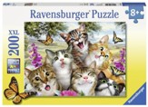 Friendly Felines Puzzle, 200 Pieces
