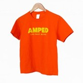 AMPED: Youth Adult T-Shirt, Large