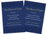 The Heart of Torah, Gift Set: Essays on the Weekly Torah Portion