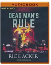 Dead Man's Rule - unabridged audio book on MP3-CD