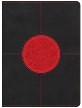 HCSB Apologetics Study Bible for Students, Black and Red LeatherTouch, Thumb-Indexed