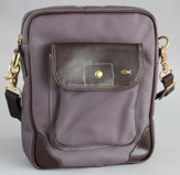 Satchel Bible Cover, Mauve, Extra Large