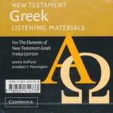 New Testament Greek Listening Materials for the  Elements of New Testament Greek, 3rd Edition--2 CDs