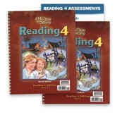 BJU Press Reading 4 Teacher's  Edition with Assessments (2nd   Edition)