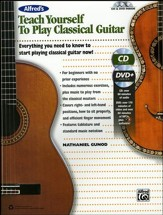 Teach Yourself Classical Guitar / Book, CD & DVD