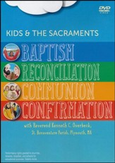 Kids and the Sacraments: Set of Four Sacraments - DVD
