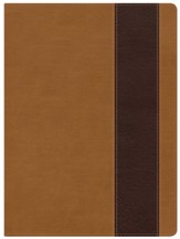 Holman Study Bible: NKJV Edition, Suede & Chocolate LeatherTouch, Thumb-Indexed