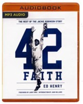 42 Faith: The Rest of the Jackie Robinson Story - unabridged audio book on MP3-CD