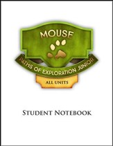 Paths of Exploration Junior 1st Grade Student Notebook Pages (6 Units; 3rd Edition)
