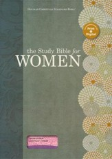 The Study Bible for Women, Lavender and Blush LeatherTouch, Thumb-Indexed