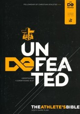 Undefeated: HCSB FCA Athlete's Devotional Bible, softcover