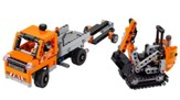LEGO ® Technic 2-in-1 Roadwork Crew