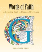 Words of Faith Coloring Book