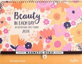 2018 Family Wall Planner, Beauty In Each Day