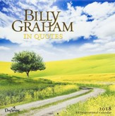 2018 Wall Calendar, Billy Graham In Quotes