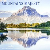 2018 Wall Calendar, Mountains Majesty