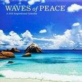 2018 Wall Calendar, Waves Of Peace