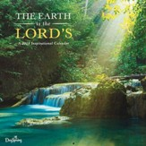 2018 Wall Calendar, The Earth Is the Lord's