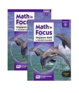 Math in Focus Grade 8 Course 3  Student Book Bundle A and B Set