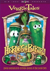 Heroes of the Bible Volume 1: Lions Shepherds and Queens (Oh  My!) VeggieTales DVD