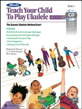 Teach Your Child to Play Ukulele / Book & CD