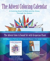 Advent Color and Sound Set with Gregorian Chant
