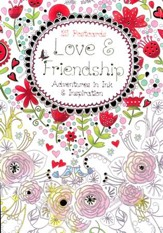 Love and Friendship Post Card Book