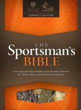 HCSB Sportsman's Bible, Camouflage Large Print Compact Edition