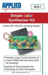 Simple Color Synthesizer Kit