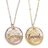 Loved Necklace Set